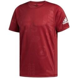 textil Herre T-shirts m. korte ærmer adidas Originals Freelift Daily Press Bordeaux