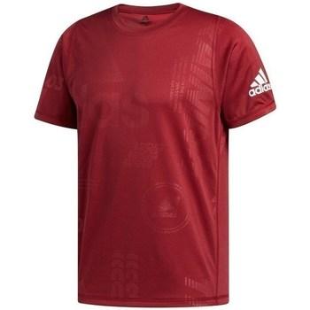 textil Herre T-shirts m. korte ærmer adidas Originals Freelift Daily Press