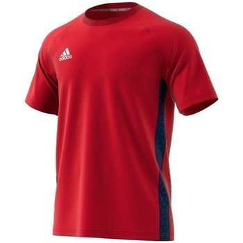 textil Herre T-shirts m. korte ærmer adidas Originals Tango Tape Tee Rød