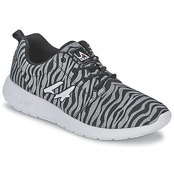 Sko Dame Lave sneakers L.A. Gear SUNRISE Grå / Sort