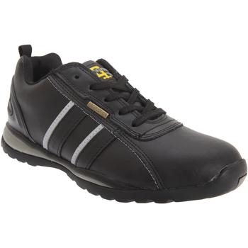 Sko Herre Lave sneakers Grafters  Black/Grey Action