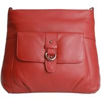 Tasker Dame Skuldertasker Eastern Counties Leather  Red