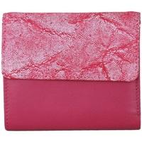 Tasker Dame Tegnebøger Eastern Counties Leather  Fuchsia/Pink Foil