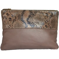 Tasker Dame Bæltetasker & clutch  Eastern Counties Leather  Taupe/Beige Foil