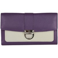 Tasker Dame Tegnebøger Eastern Counties Leather  Purple