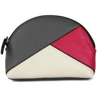 Tasker Dame Punge Eastern Counties Leather  Grey/Pink/White