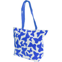 Tasker Dame Shopping Floso  White/Blue