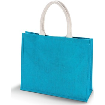 Tasker Dame Shopping Kimood  Turquoise