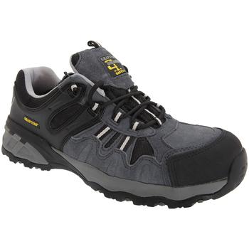 Sko Herre Lave sneakers Grafters  Grey/Black