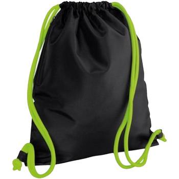 Tasker Børn Sportstasker Bagbase BG110 Black/Lime Green