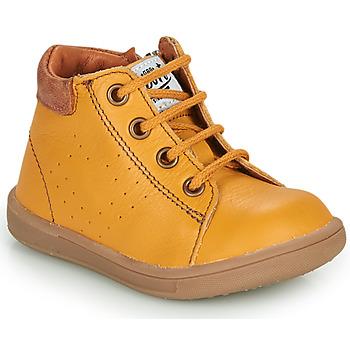 Sko Dreng Høje sneakers GBB FOLLIO Orange