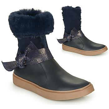 Sko Pige Chikke støvler GBB EVELINA Marineblå