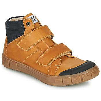 Sko Dreng Høje sneakers GBB HENI Cognac