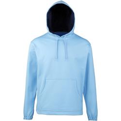 textil Dreng Sweatshirts Rhino RH70B Sky/Navy