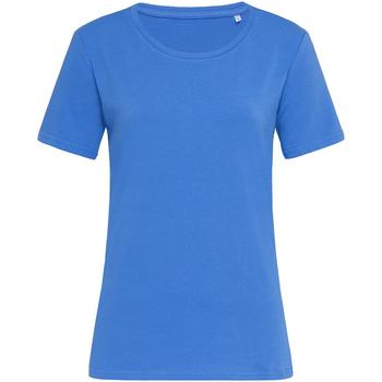 textil Dame T-shirts m. korte ærmer Stedman Stars  Blue