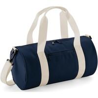 Tasker Sportstasker Bagbase  French Navy/Off White