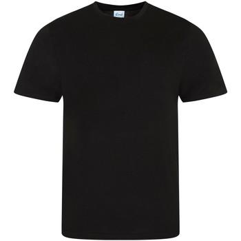 textil Herre Pyjamas / Natskjorte Comfy Co CC040 Black