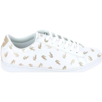 Sko Børn Lave sneakers Lacoste Carnaby Evo C Blanc Or Hvid