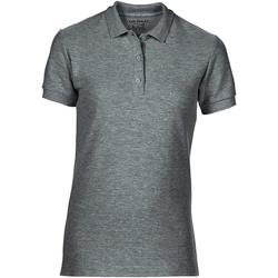 textil Dame Polo-t-shirts m. korte ærmer Gildan 85800L Graphite Heather