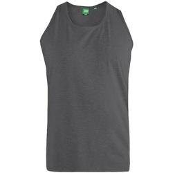 textil Herre Toppe / T-shirts uden ærmer Duke  Charcoal Melange
