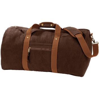 Tasker Sportstasker Quadra QD613 Vintage Brown