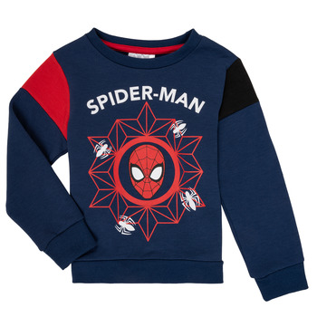 textil Dreng Sweatshirts TEAM HEROES SPIDERMAN SWEAT Marineblå
