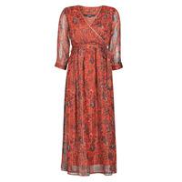 textil Dame Lange kjoler Vero Moda VMGLAMMY Rød