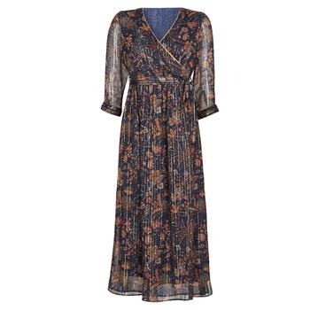 textil Dame Lange kjoler Vero Moda VMGLAMMY Marineblå