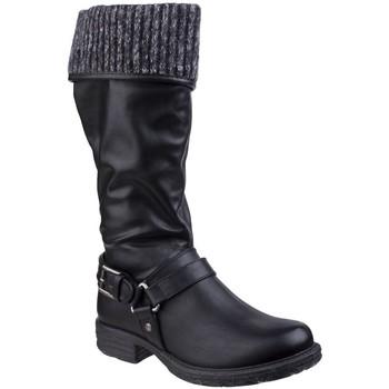 Sko Dame Chikke støvler Divaz  Black
