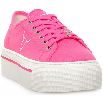 Sko Dame Lave sneakers Windsor Smith RUBY CANVAS NEON PINK Rosa