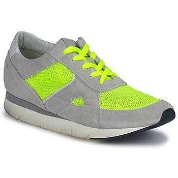 Sko Dame Lave sneakers OXS GEORDIE Grå / Gul