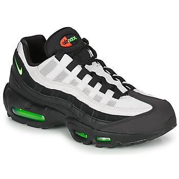 Sko Herre Lave sneakers Nike AIR MAX 95 Sort / Hvid / Grøn