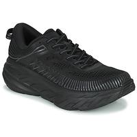 Sko Herre Lave sneakers Hoka one one BONDI 7 Sort