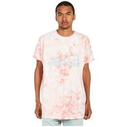 textil Herre T-shirts m. korte ærmer Ellesse T-shirt  Starezzo rose pâle/blanc