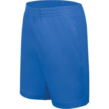 textil Børn Shorts Proact Short enfant Jersey  Sport bleu marine