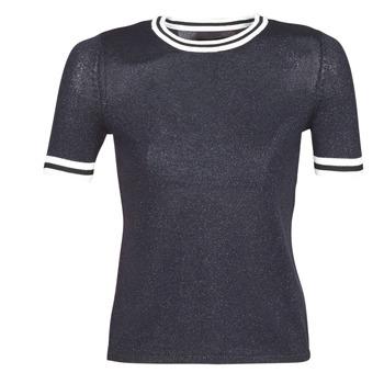 textil Dame Pullovere Only ONLKAMILLA Marineblå