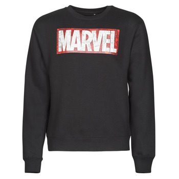 textil Herre Sweatshirts Casual Attitude MARVEL MAGAZINE CREW Sort