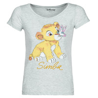 textil Dame T-shirts m. korte ærmer Moony Mood THE LION KING Grå