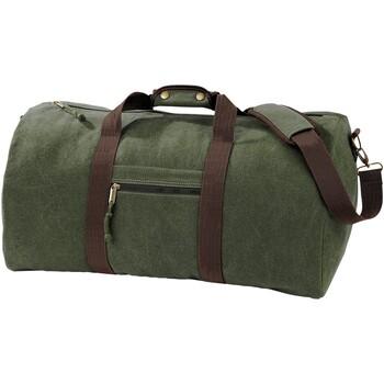 Tasker Rejsetasker Quadra QD613 Vintage Military Green