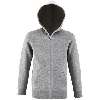 textil Børn Sweatshirts Sols STONE COLORS KIDS Gris