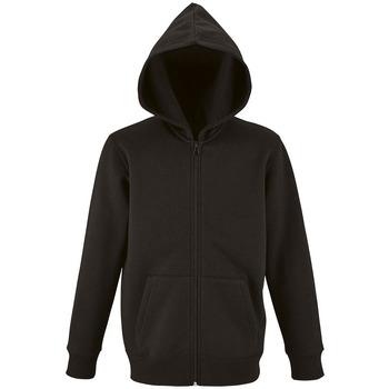 textil Børn Sweatshirts Sols STONE COLORS KIDS Negro