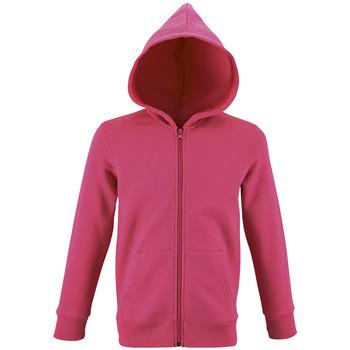 textil Børn Sweatshirts Sols STONE COLORS KIDS Rosa
