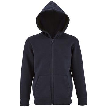 textil Børn Sweatshirts Sols STONE COLORS KIDS Azul