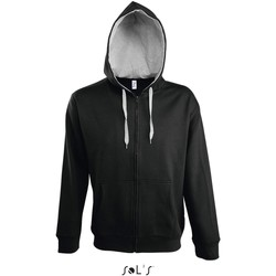 textil Herre Sportsjakker Sol's Veste zippé à capuche  Soul noir