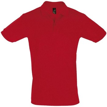 textil Herre Polo-t-shirts m. korte ærmer Sols PERFECT COLORS MEN Rojo