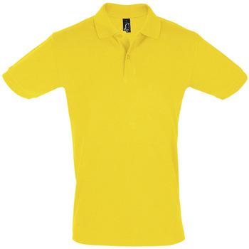 textil Herre Polo-t-shirts m. korte ærmer Sols PERFECT COLORS MEN Amarillo