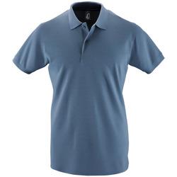 textil Herre Polo-t-shirts m. korte ærmer Sols PERFECT COLORS MEN Azul