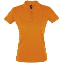 textil Dame Polo-t-shirts m. korte ærmer Sols PERFECT COLORS WOMEN Naranja