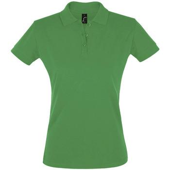 textil Dame Polo-t-shirts m. korte ærmer Sols PERFECT COLORS WOMEN Verde
