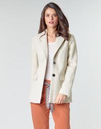 textil Dame Frakker Vero Moda VMCALA Hvid